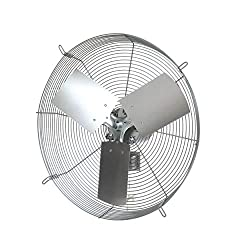 powerful Exhaust fan CE-16-D, TPI Corporation direct drive, with protective cover, single phase, diameter 16 inches, 120 …
