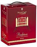 Vin Rouge - Sélection au Verre (3L) - AOP Bordeaux - Bag in Box - Cépage: Cabernet Sauvignon, Merlot
