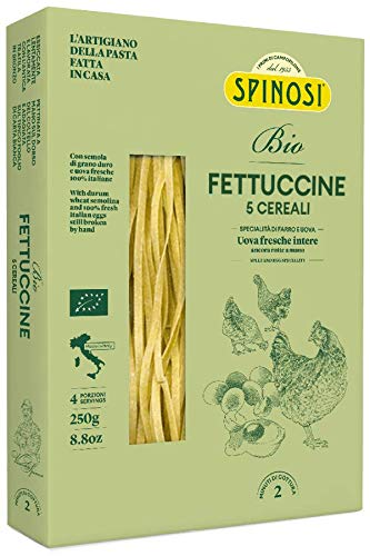 Spinosi Fettuccine Bio Ai 5 Cereali - 250 g