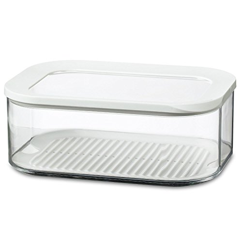 Rosti Mepal Modula 2L rectangular Cheese Storage Box coperchio ermetico (confezione da 4) Rosti Mepal Quantità: 4