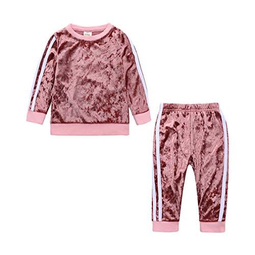 Yying Baby Jungen Kleidung Sets Kinder Mädchen Trainingsanzüge Sport Anzug Fleece Jacke Frühling Herbst Kleidung Kinder Casual Set