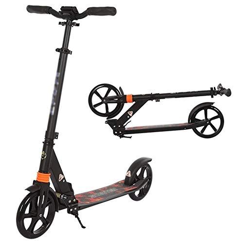 SOAR Freestyle Scooter Außenreit Tragbare Scooter- Erwachsener Folding Tretroller - Big Wheels Glider mit...