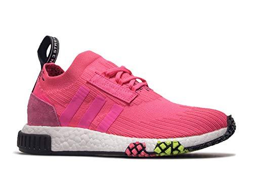 Adidas NMD_Racer PK, Zapatillas de Deporte para Niños, Rosa (Rossol/Rossol/Negbás 000), 37 1/3 EU