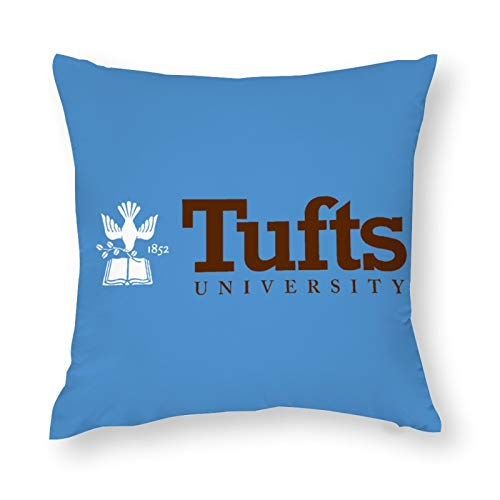 Nother Tufts University Pillow Cover Polyester Throw Pillow Cushion Home Decorations 16''×16''