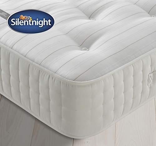 Silentnight 2000 Pocket Natural Wool Mattress   Tailored Comfort & Pressure Relief   Medium  Double