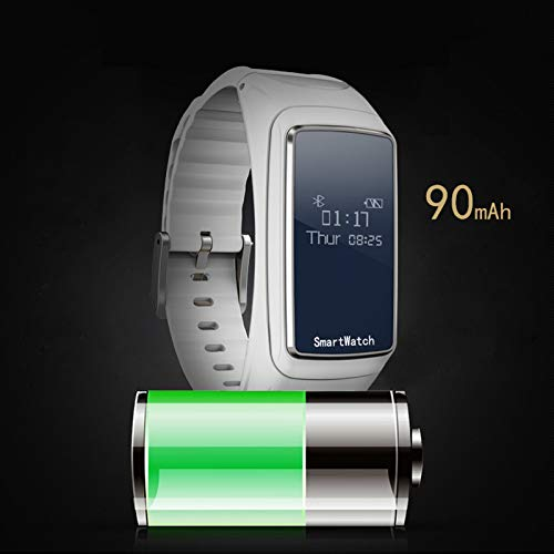 Youlala - Reloj Deportivo con Auriculares inalámbricos Bluetooth, Monitor de Actividad física...