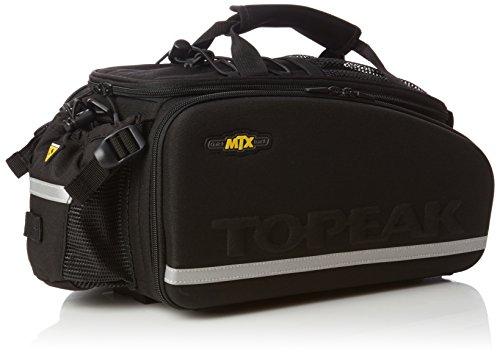 Topeak Rahmentasche MTX TurnkBag EXP Gepäckträgertasche Fahrradtasche Mit Trinkflaschenhalter, Black, 36x21.5x25 cm, 16.6 L