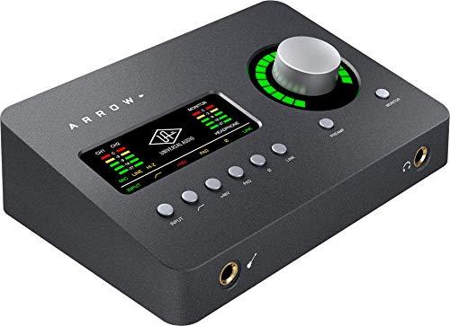 Universal Audio Arrow Thunderbolt 3 Audio Interface,Gray