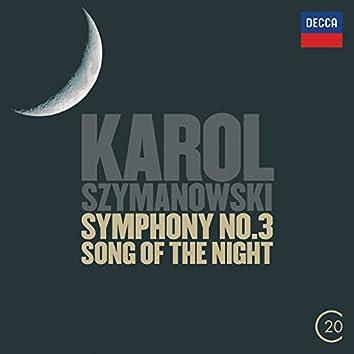 "Szymanowski: Symphonies Nos.2 & 3 - ""Song Of The Night"""