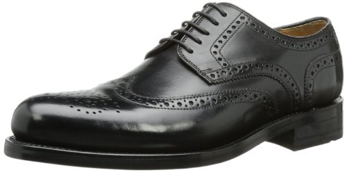 Gordon & Bros Herren Levet Derby, Schwarz (black), 45 EU