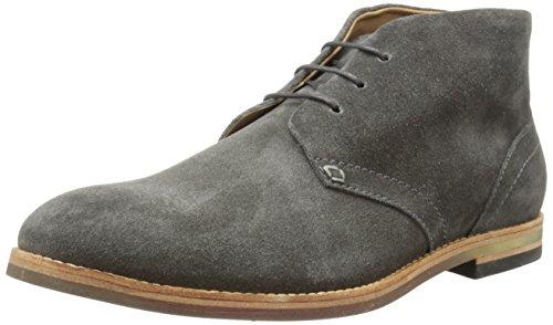 Hudson London Herren Houghton 3 Chukka Boots, Grau (Grey), 42 EU