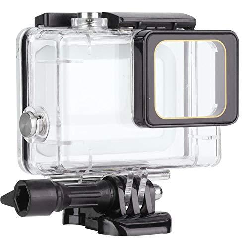 Gedourain Custodia Protettiva per Fotocamera Trasparente Resistente ai Graffi Impermeabile, Adatta per Vari Usi subacquei