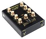 [page_title]-Pronomic DX-10 MKII DJ Mixer - kompakter 2-Kanal-DJ-Mixer mit zwei Line-Eingängen und 2-Band Equalizer - Mikrofoneingang mit separatem Laustärkeregler - Master- und Kopfhörer-Ausgang - schwarz