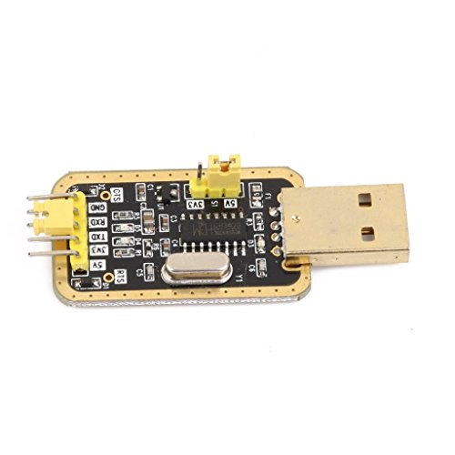DollaTek 3.3V/5V convertidor de USB a TTL UART CH340G de Serie del módulo Adaptador de Oro