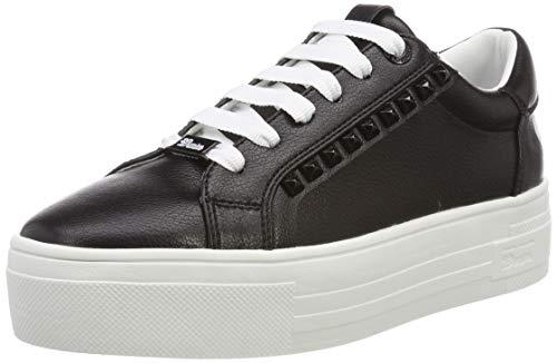 TOM TAILOR Damen 6996101 Sneaker, Schwarz (Black 00001), 38 EU
