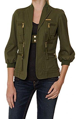 DSquared² Damen Jacke, Farbe: Armeegruen, Größe: 38