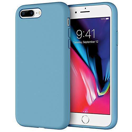 JETech Coque en silicone pour iPhone 7 Plus, iPhone 8 Plus, 5,5 ...