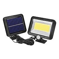 ソーラーライトLEDソーラーガーデンライト屋外照明フラッドライト緊急装飾ガーデンライトソーラーランプモーションセンサーウォールランプ