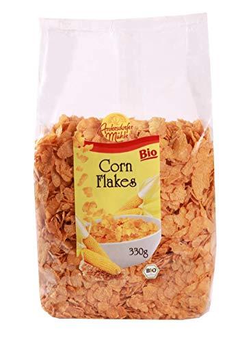 Antersdorfer Mühle | BIO Corn Flakes aus Mais | Ohne Zuckerzusatz | DE-ÖKO-003 | 330g Beutel