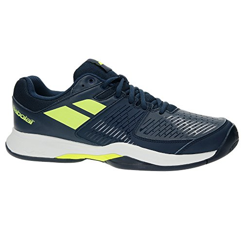 Babolat Pulsion all Court, Scarpe da Tennis Uomo, Multicolore/Blu/Giallo, 40.5 EU