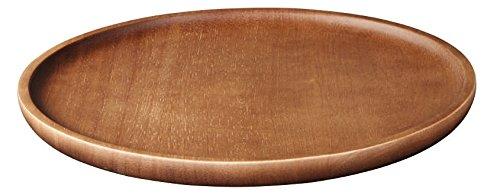 ASA 93903970 Holzteller/Servierteller - Wood - Akazie - massiv - Ø 15 cm - Höhe 2 cm