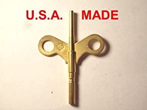Seth Thomas Trademark Clock Winding Key Double End #4/0000 for #120 and #124 Movements by A n B Collectibles