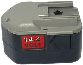 No PowerSmart/® 2000mAh 18V NiMH Batterie pour Metabo BSZ 18 BSZ 18 Impuls 6.25477 KSA P18 6.25478 passt Part Ula 9.6-18