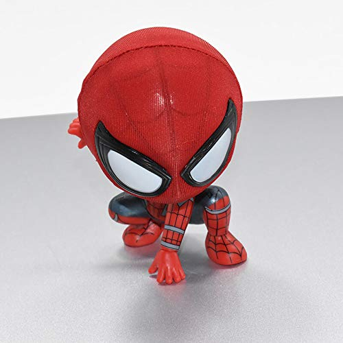 YHK Spiderman Fridge Magnet,Jumping Spiderman Magnet Base,Magnet for Refrigerators and Lockers (Squat)