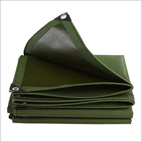 LXVY TarpaulinTarp Cover Heavy Duty Thick Material, Waterproof, Great for Tarpaulin Canopy Tent, Boat, RV Or Pool Cover,Reinforced Multi-Purpose Tarp,4m*6m