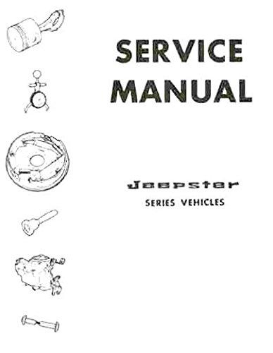 1966 1967 1968 1969 JEEPSTER REPAIR SHOP & SERVICE MANUAL - Includes Commando