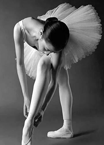 VVNASD Puzzle De 1000 Piezas para Adultos, Bailarina de Ballet ,Cartel Decoración para El Hogar Madera Juguetes Divertidos Juegos Gran Regalo Educativo para Niños