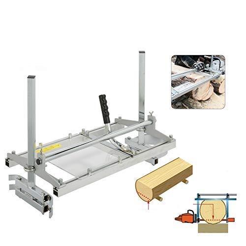 CO-Z Segheria a Catena Motoseghe Planking Fresatura MG Portatile per Motosega Tavolame Lame (36-60 cm)