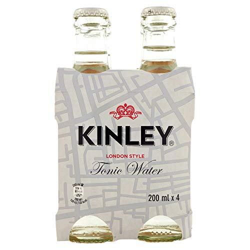 Kinley Acqua Tonica - Vetro, pacck da 4 x 200 ml