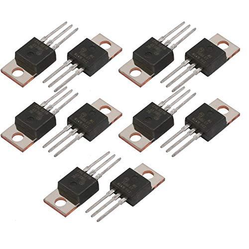 BianchiPamela 10pcs New L7806CV L7806 LM7806 ST TO-220 Voltage Regulator 6V 1.5A A+