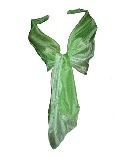 itendance Étole Écharpe Femme Couleurs Dégradées 100% Soie vert pistache