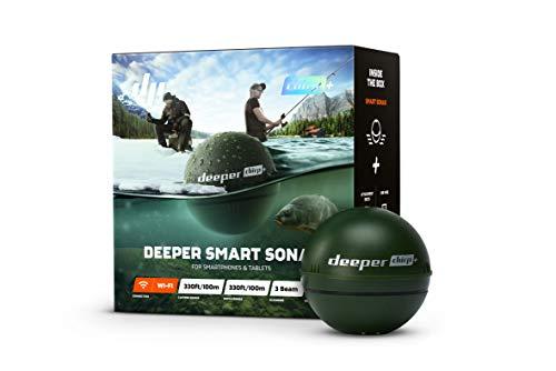 Deeper Chirp+ Smart Sondeur Sac étanche, 6 cm, Military Green