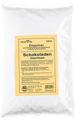 Softeispulver Schokoladen-Geschmack, 1,1 kg