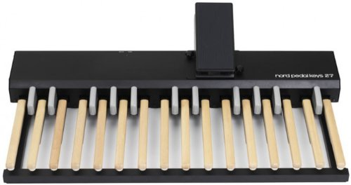 Nord Pedal Keys 27 Midi Pedal Board with Integrated Swell Pedal for use with Nord C2 Organ