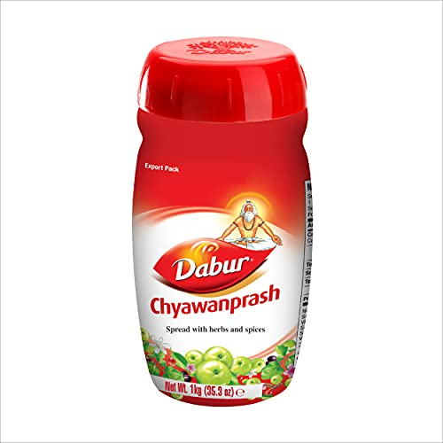Dabur Chyawanprash 1 Kg. - Spread with Herbs & Spices (Pack of 3)