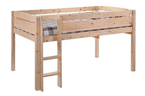 Canwood Whistler Junior Bed-Natural Loft, Single