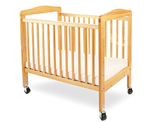 %21 OFF! LA Baby Compact Non-Folding Wooden Window Crib, Natural
