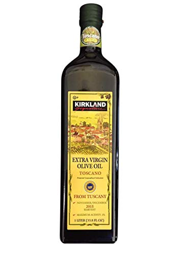 Kirkland Signature Extra Virgin Olive Oil Toscano (from Tuscany), 1 Liter
