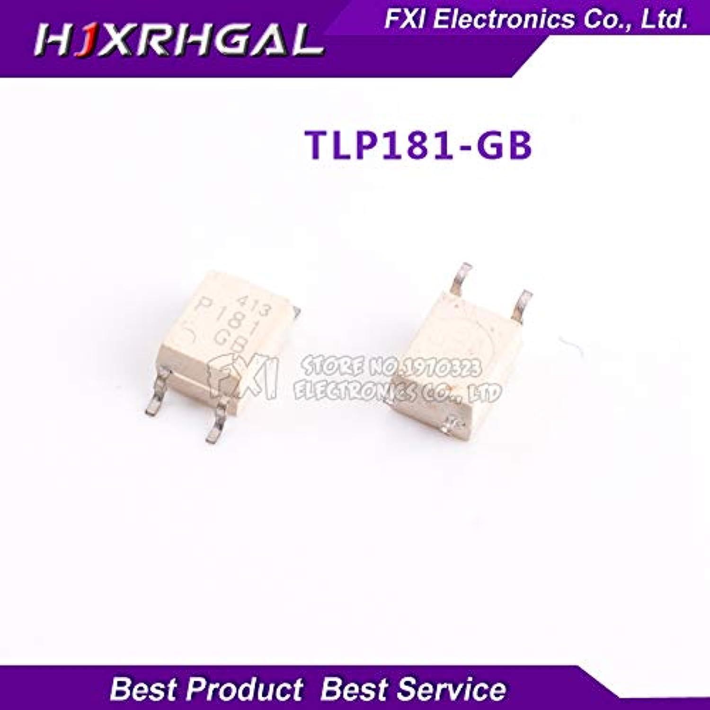 ValueTradeInc  100PCS TLP181GB TLP181GR SOP4 SOP TLP181 P181 SMD