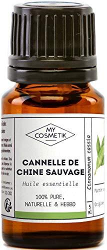 Huile Essentielle de Cannelle de Chine sauvage Bio AB - 100% pure et naturelle HEBBD - MyCosmetik - 30 ml