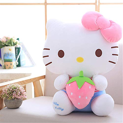 Cqljec Juguete de Peluche Hello Kitty Muñeco de Peluche Mundo de Frutas Kitty Muñeca Hello Kitty KT de Regalo