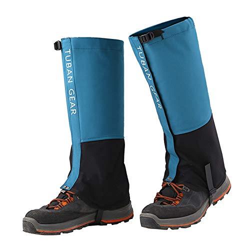 Lixada Gamaschen Beingamaschen wasserdichte Verstellbare Anti Riss Schneeschuhgamaschen für Schneeschuhwandern im Freien Wandern Skifahren