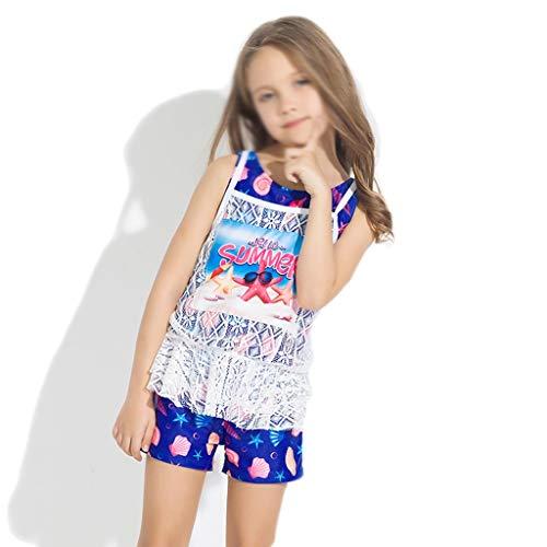 GCX- Meisjes Badmode baby zwembroek vrouwelijke baby Zwembad Dedicated Sport Swimsuit Split Girl Swimsuit Mode (Color : B, Size : 10)
