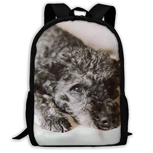 Blanket Animal Puppy Dog Kinderrugzak, comfortabele dagrugzak voor tieners, school en camping, 43 x 28 x 16 cm