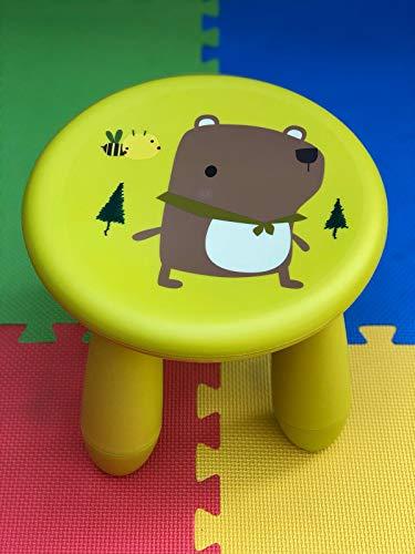 IKEA Hocker-Mammut Children's, Dunkles pink, 40 x 37 x 60 cm