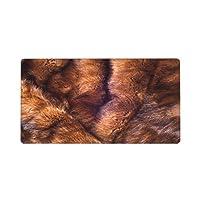マウスパッド 超大型ゲーミングマウスパッド ミンクの毛皮の動物北アメリカとユーラシアに自生する小さな半水生のストートのような肉食動物 デスクマット 80x30cm おしゃれ い デスクパッド 滑り止め ゴムベースマウスパッド 仕事 ゲーム オフィス ホーム用 男女兼用